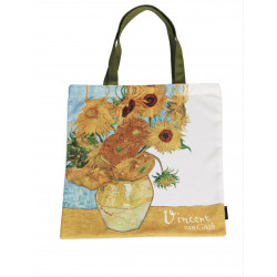 Bolsa de compra - ART-SHOPPING-BAG VAN GOGH GIRASOLES