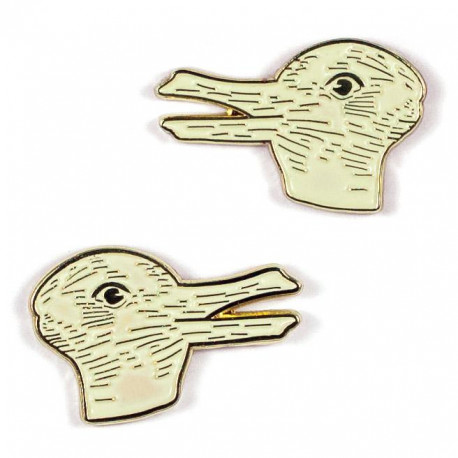 Pin de coleccionismo - DUCK RABBIT