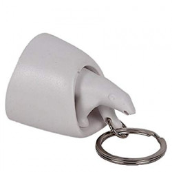 Colgador de llaves y llavero - POLAR BEAR KEY RING