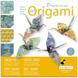 Artículo para montar - ART-ORIGAMI VAN GOGH 20 SHEETS 15 CM X 15 CM
