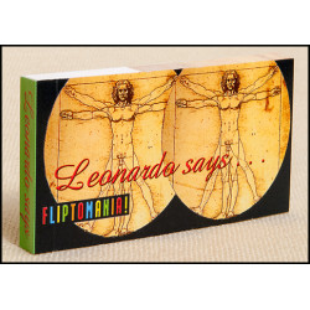 Libro - MINILIBRO DIAPORAMA - LEONARDO SAYS 'PUMP UP WITH ART'