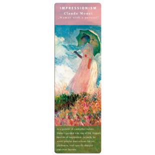 Marcapáginas - BOOKMARK IMPRESSIONISTS MONET WOMEN/PARASOL