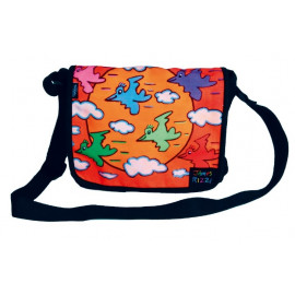 Bolso - SHOULDER BAG ARTPRINT JAMES RIZZI FLOCKING AROUND WITH THE SUN