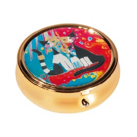 Pastillero - PILL-BOX LARGE ROUND WACHTMEISTER WE WANT TO BE TOGETHER