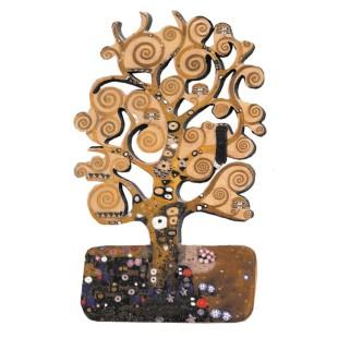 Imán - MDF, GUSTAV KLIMT, TREE OF LIFE