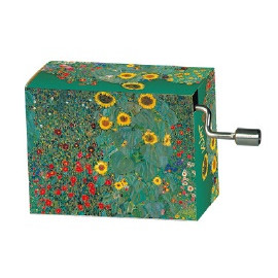 Caja de música - MUSIC BOX, FREE AS THE WIND, KLIMT, FARMGARDEN
