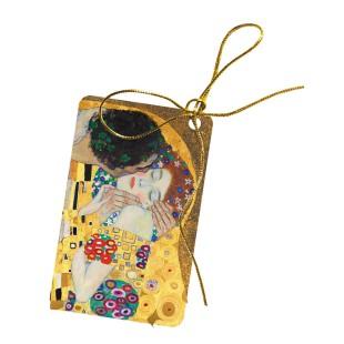 Etiqueta para regalo - GUSTAV KLIMT KISS, 10 UDS