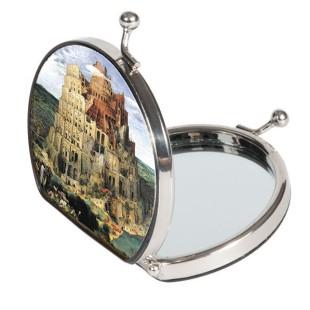 Espejo de bolsillo - BRUEGHEL FORRADO DE TELA